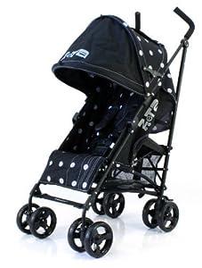 Zeta Vooom Stroller (Black Dots) from Zeta