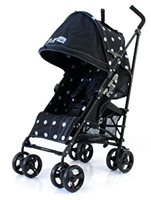 Zeta Vooom Stroller (Black Dots) from Zeta