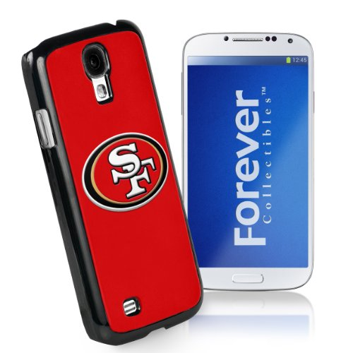 Forever Collectibles San Francisco 49Ers Team Logo (Black Borders) Hard Snap-On Samsung Galaxy S4 Case