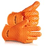 #1 Silicone BBQ Gloves - Perfect For...