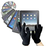 "DURAGADGET LCD Touchscreen Gloves For Cold Weather Use - Works With Your Tablet PC (e.g. The New Apple 3rd Generation iPad ""3"" (March 2012 Release) & iPad 2, Samsung Galaxy Tab And ASUS Eee Pad Transformer) - Size Mediumby DURAGADGET"