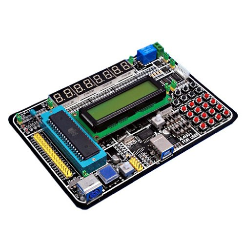 Sainsmart Xl400 51 Mcu Development Board For Atmel Ic Xl400 Kit Demo System 1602 Lcd