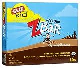 Clif Bar Kid Z Bar Organic Chocolate Brownie, Chocolate Brownie 6/1.27 Oz(Case Of 6) (Pack Of 3)