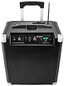ION Block Rocker Portable Speaker System with AM/FM Radio