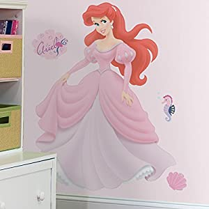 roommates disney princess ariel giant wall sticker amazon