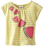 Appaman Baby-Girls Infant Grammercy camiseta de rayas, Sunrise, 12Meses Color: Naranja Tamaño: 12Meses infantil, bebé, niño