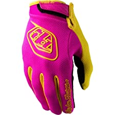 Troy Lee Designs Air Youth Off-Road/Dirt Bike Motorcycle Gloves - Pink / X-Small