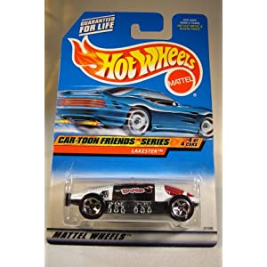 Hot Wheels Mattel 1997 Car-Toon Friends Series 4 of 4 Lakester Die Cast Car Collector 988 1:64 Scale