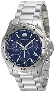 Movado Men's 2600085 Series 800 Sub-Sea Performance Stainless-Steel Blue Dial Bracelet Watch
