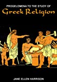 img - for Progelomena to the Study of Greek Religion book / textbook / text book