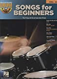 Songs for Beginners: Drum Play-Along Volume 32 (Book/CD)