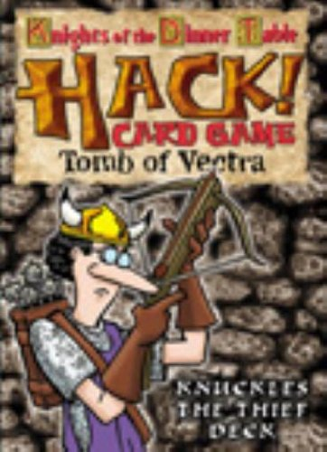 Knights of the Dinner Table Hack! Card Game Tomb of Vectra Knuckles the Thief Deck - 1