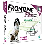 Frontline Plus for Large Dogs - 6 Pipettes