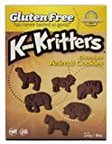 Kinnikinnick Cookie - Chocolate Animal Gluten Free, 8-Ounce (Pack of 6)