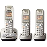 Panasonic KXTG4223N DECT 6.0 3-Handset High Quality Phone System with Answering Capability