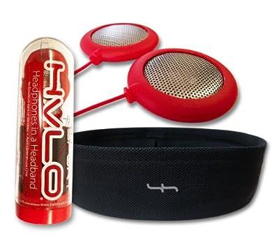 Sport Headphones, Red Speakers plus Black Headband