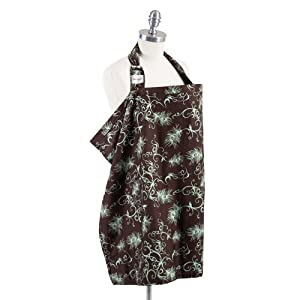 Bebe Au Lait Nursing Cover, Mint Chocolate