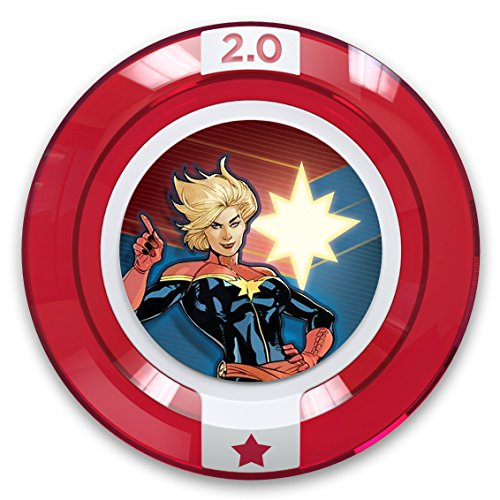 Disney Infinity 2.0 Power Disc - Marvel Team-Up: Captain Marvel