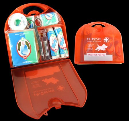 Hi-Travel - Pet First Aid Kit for Cats, Dogs And Other Small Animals