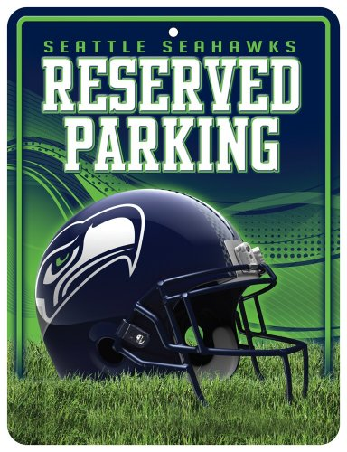 NFL Seattle Seahawks Parking Sign