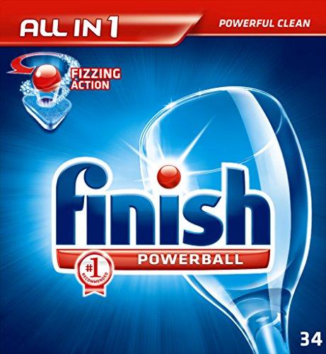 Finish All In One Dishwash Tablets Pack 34 Regular
