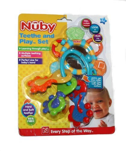 Nuby Teethe and Play Set - 1