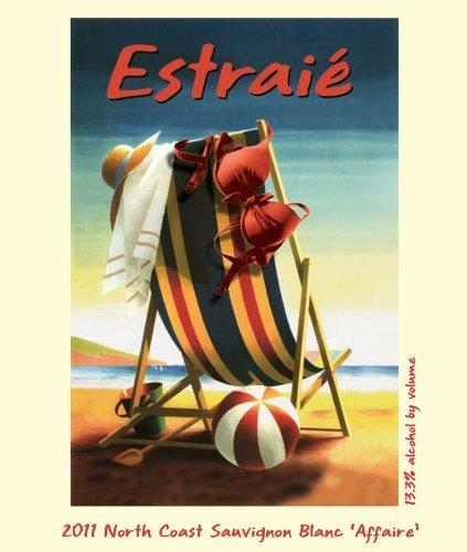 """2011 Chandelle Estraié North Coast Sauvignon Blanc """"Affaire"""" 750 Ml"""