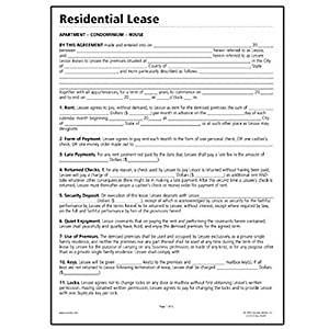 somlf310 socrates residential lease forms legal forms office products