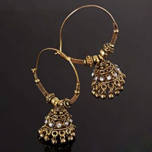 Noor Women Girls Earrings ER 1032 Gold