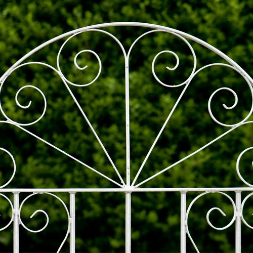 Aintree Metal Garden Gate - Ready to fit with 1 Latch post (up to 110cm) In Green
