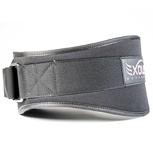 Women's Weight-lifting Gym Belt Countoured Fit Firm Eva Foam Low Profile 5.5