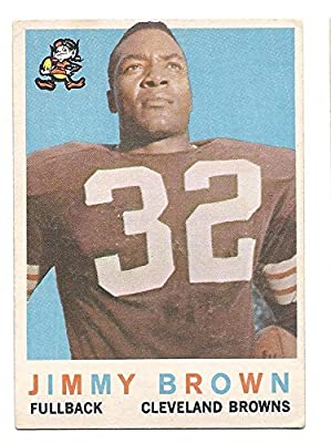 JIM BROWN 1959 Topps #10 Card Cleveland Browns Football