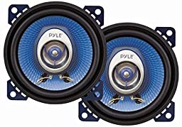 Pyle PL42BL 4-Inch 180-Watt Two-Way Speakers (Pair)