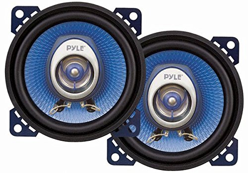 Pyle PL42BL 4-Inch 180-Watt Two-Way Speakers (Pair) (Toyota Corolla Sprinter compare prices)