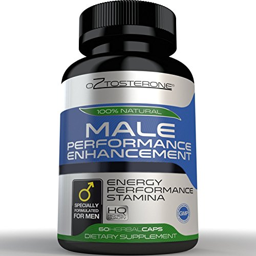 Oztosterone-Male-Performance-Enhancement-Testosterone-Booster-for-Men-All-Natural-Vegan-Made-in-the-US-Horny-Goat-Weed-Maca-Root-60-capsules-Increase-Stamina-Energy-Muscle-Growth-Fat-Loss
