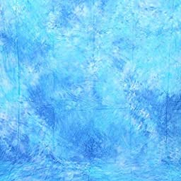 CowboyStudio Hand Painted 10\' X 20\' Sky Blue Muslin Photo Backdrop Background