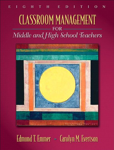 Classroom Management for Middle and High School Teachers...