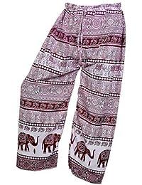 Women's Cotton Harem Pants Afghani Trousers - B06XVH8PBZ