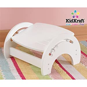 Nursing Stool White