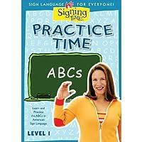 Practice Time ABCs