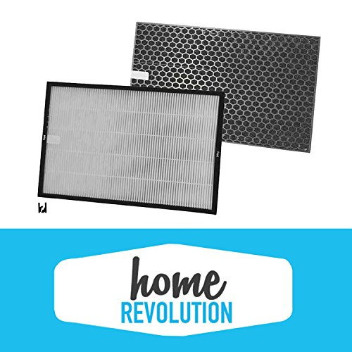 Rabbit BioGS 2.0 Home Revolution Brand Replacement Air Filter and Carbon Kit, Fits SPA-550A & SPA-625A