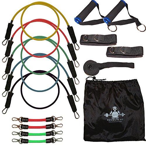 penguinfit-16-pezzi-fitness-fascia-di-resistenza-per-donne-e-uomini-con-elastici-per-allenamento-con
