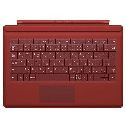 マイクロソフト タイプカバー Surface Pro 3用 赤 RD2-00009