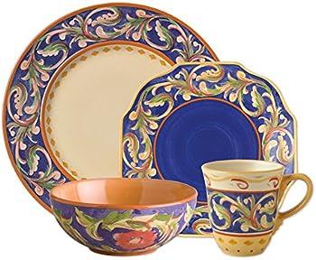 Pfaltzgraff 32 Pc. Blue Dinnerware Set