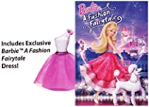 Barbie: A Fashion Fairytale (Deluxe DVD Edition with Barbie Dress)