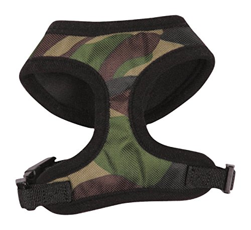Casual Canine Camo Dog Harness, Small, Green (Casual Canine Mesh Dog Harness compare prices)