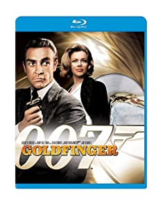 """Goldfinger"" is the third James Bond movie starring Sean Connery."