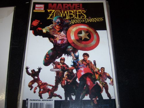 Marvel Zombies Vs. Army of Darkness #4 0f 5 (Marvel Zombies 4 compare prices)