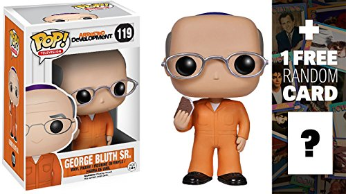 George Bluth: Funko POP! x Arrested Development Vinyl Figure + 1 FREE Official Hollywood themed Trading Card Bundle [39509]