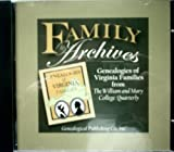 Genealogies of Virginia Families from the William and Mary College Quarterly: Family Archives